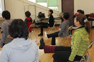 高齢者介護予防実践運動指導員要請講座の様子